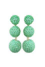 Fashion Pickle Pastel Statement Earrings - Product Mini Image