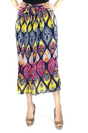 Fashion Pickle Print Long Skirt - Product Mini Image
