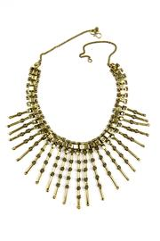 Fashion Pickle Rezina Statement Necklace - Product Mini Image