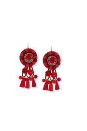 Fashion Pickle Riba Statement Earrings - Front cropped