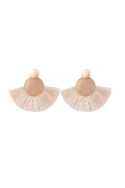Fashion Pickle Rinas Statement Earrings - Product Mini Image