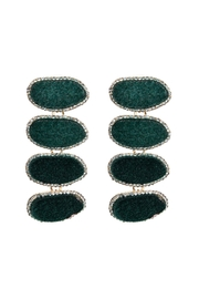 Fashion Pickle Sparkle Statement Earrings - Product Mini Image