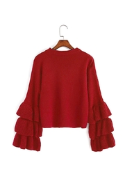 Fashion Pickle Statement Sweater - Front cropped