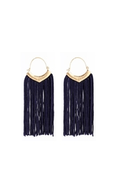 Fashion Pickle Tirara Statement Earrings - Product Mini Image