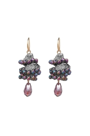 Fashion Pickle Ulas Statement Earrings - Front cropped