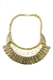 Fashion Pickle Veena Statement Necklace - Product Mini Image
