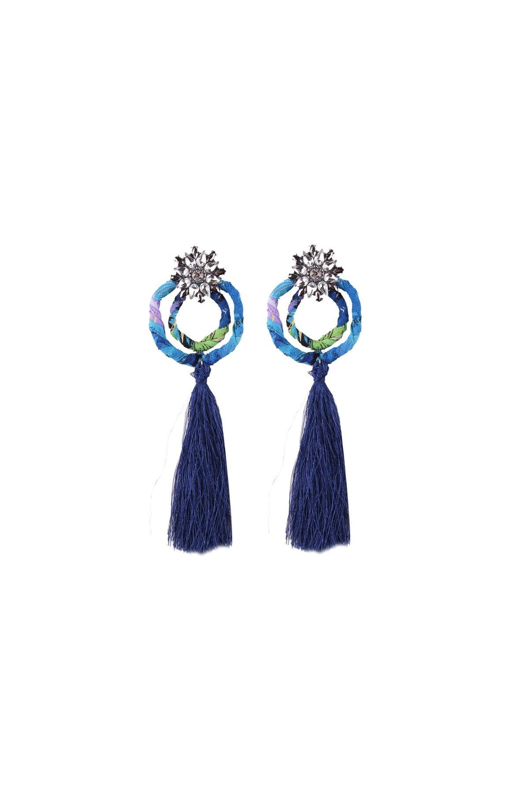 Fashion Pickle Wibi Statement Earrings - Main Image