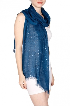 Shoptiques Product: Soft Sequin Scarf