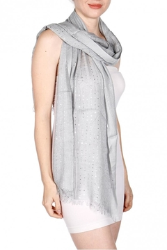Fashion Unic Soft Sequin Scarf - Alternate List Image