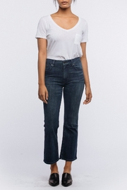 FashionAble Kick Cropped Jeans - Front cropped