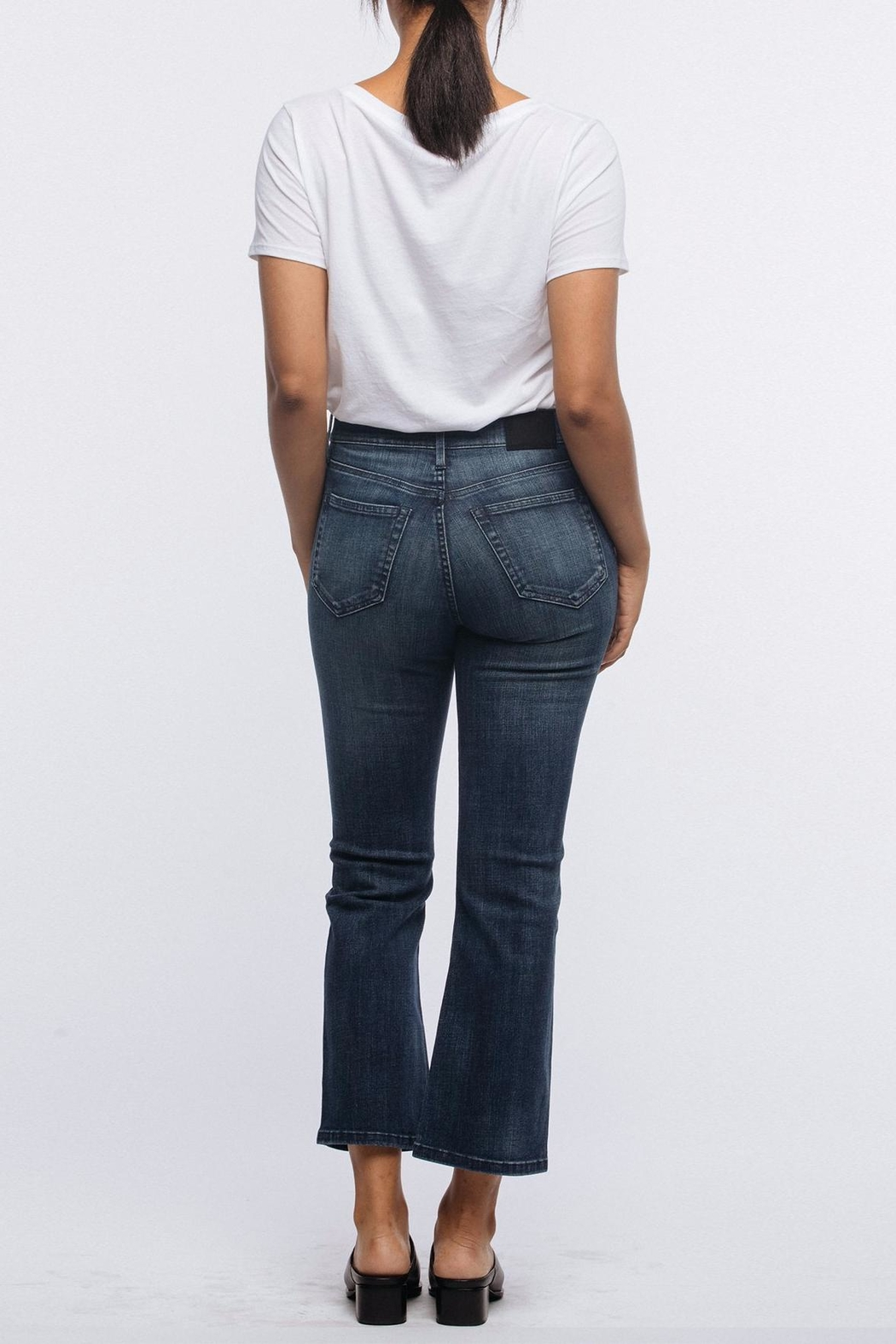 FashionAble Kick Cropped Jeans - Side Cropped Image