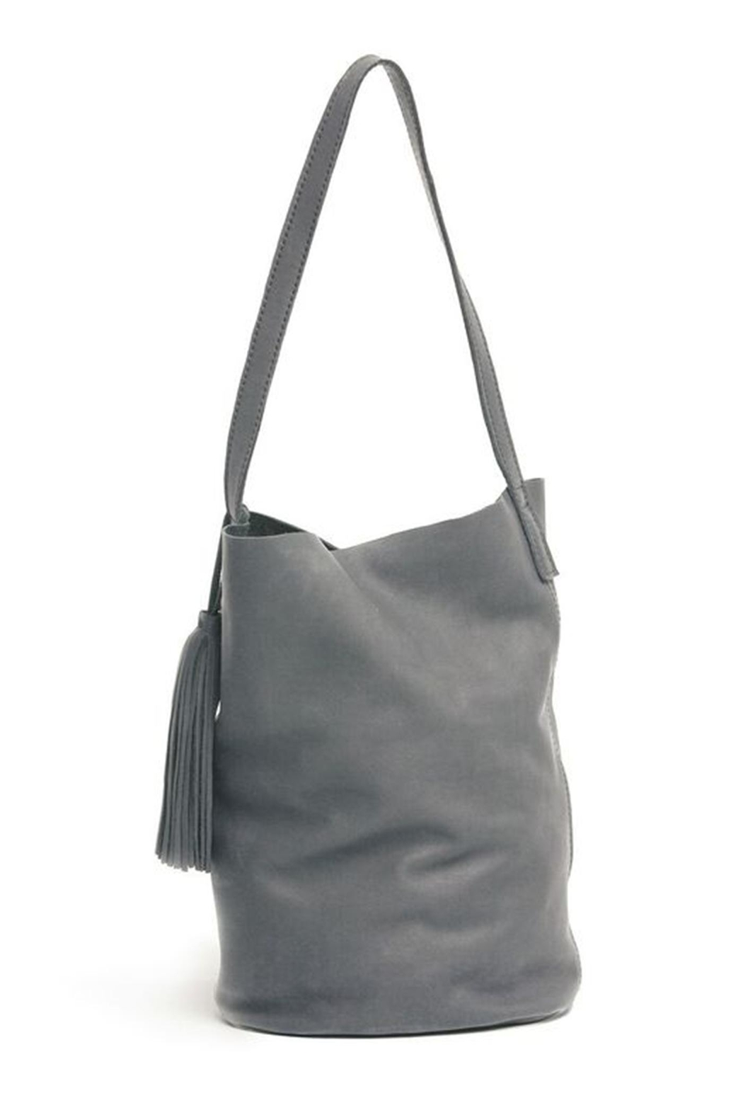 FashionAble Leather Bucket Purse - Front Cropped Image