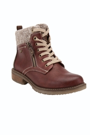Spring Footwear Fashionable Walking Booties - Front cropped