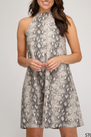 She and Sky Fashionably Fierce Dress - Front cropped