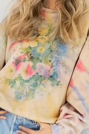 fashionemoji  Watercolor Tie-Dye Sweatshirt - Product Mini Image