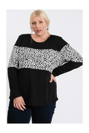 FASHIONgo.net Color Blocked Top - Side cropped