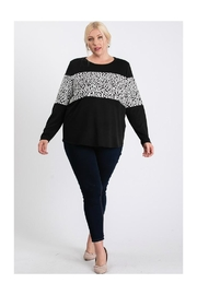 FASHIONgo.net Color Blocked Top - Front cropped
