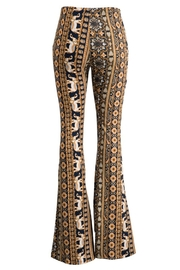 Fashionomics Elephant Bell Bottoms - Front full body