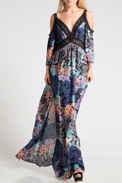 Fashionomics Floral Off Shoulder Dress - Product List Image