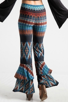 Fashionomics Tribal Layered Pant - Alternate List Image