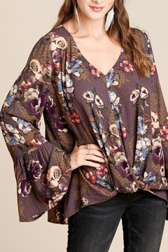 Oddi Fashions In Floral top - Product List Image