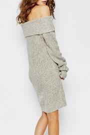Fashions4young Chunky Sweater Dress - Back cropped