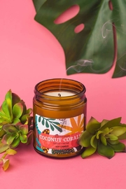 Fason De Viv Coconut Coral Soy Candle - 9 Oz - Product Mini Image