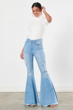 Shoptiques Product: Distressed Flare Jeans
