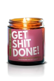 Fason De Viv Get Ish Done Soy Candle - Front cropped