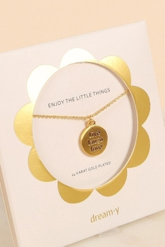 Fason De Viv Live Laugh Love Charm Necklace - Product List Image