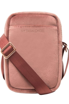 Fason De Viv Mini Cross Body - Vixen Rose (Velour Finish) - Product List Image