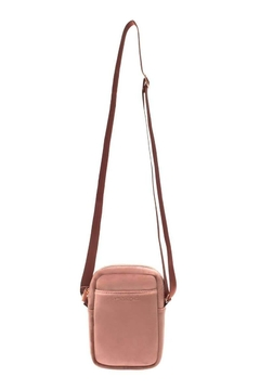 Fason De Viv Mini Cross Body - Vixen Rose (Velour Finish) - Alternate List Image