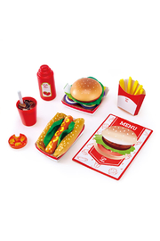 Hape  Fast Food Set - Product Mini Image