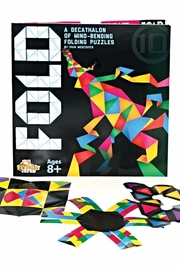 Fat Brain Toys Fold: Origami Brainteaser - Front cropped
