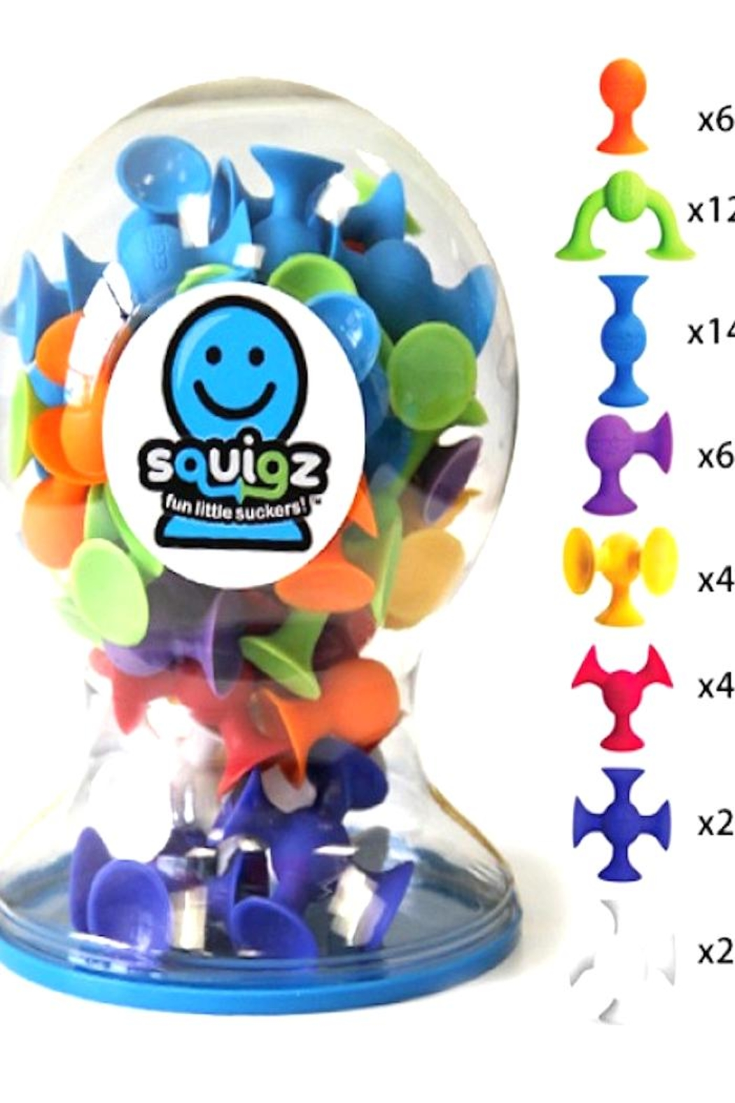 Fat Brain Toys Squigz Large Set - Front Cropped Image