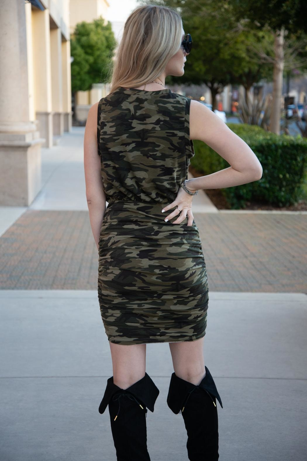 Fate Blending In Dress - Side Cropped Image