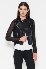 Fate Chiffon Leather Jacket - Other
