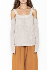 Fate Cold Shoulder Sweater - Front full body