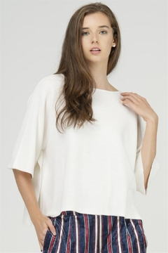 Fate Cropped Knit Top - Alternate List Image