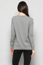 Fate Distressed Sweatshirt - Back cropped