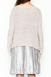 Fate Eyelet Sweater - Back cropped