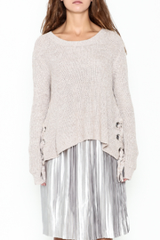 Fate Eyelet Sweater - Front full body