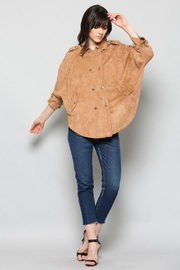 Fate Faux Suede Jacket - Product Mini Image
