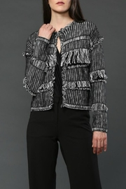 Fate Fringe Cardigan - Front full body