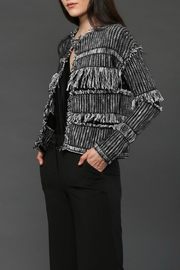Fate Fringe Cardigan - Front cropped