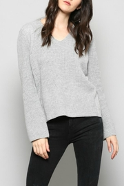 Fate Grey Knit Sweater - Product Mini Image