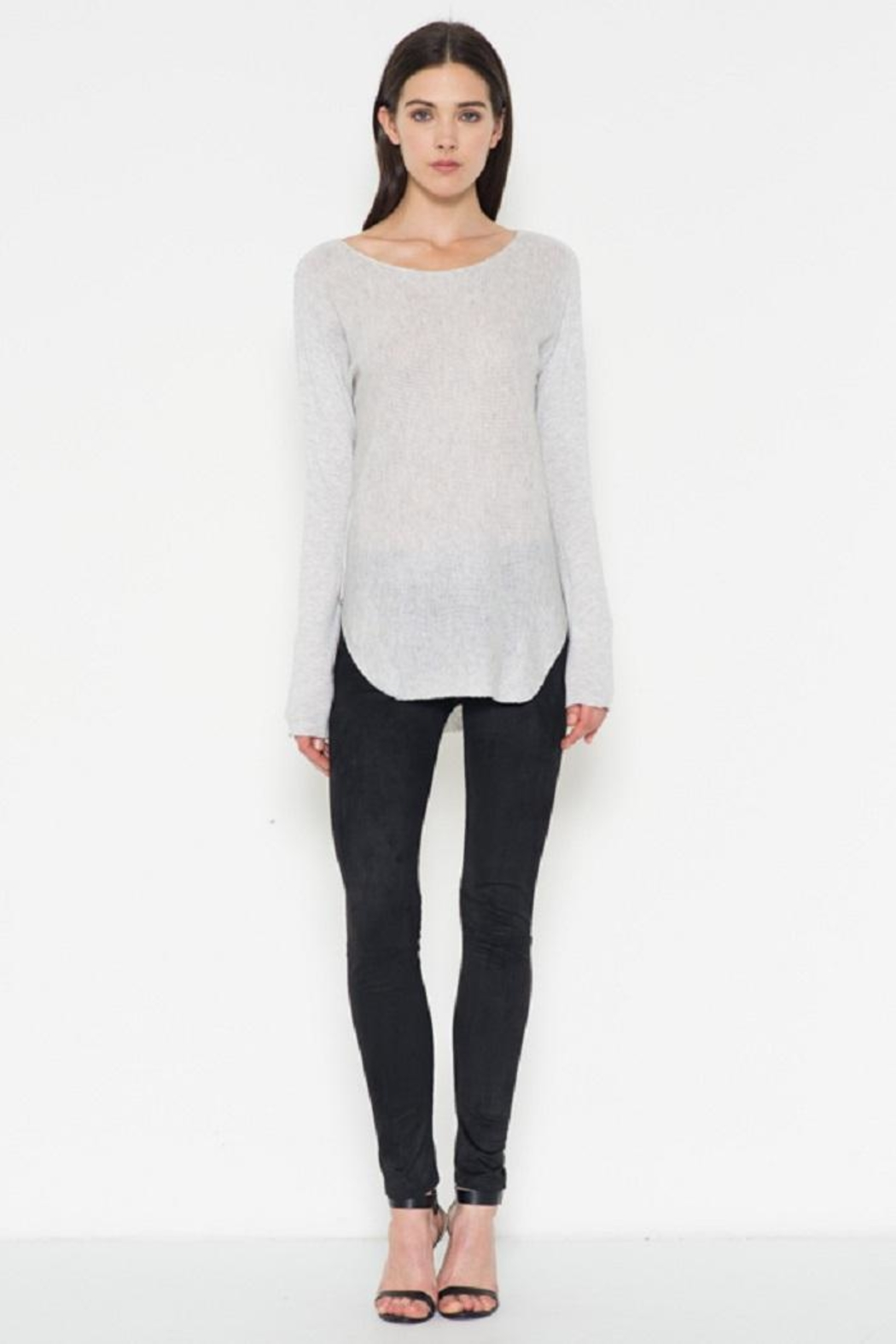 Fate Grey Pullover Sweater - Front Full Image