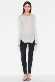 Fate Grey Pullover Sweater - Front full body