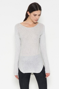 Shoptiques Product: Grey Pullover Sweater