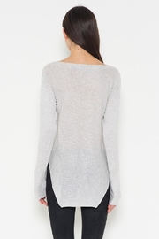 Fate Grey Pullover Sweater - Back cropped
